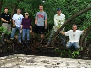 Wingra Springs cleanup group