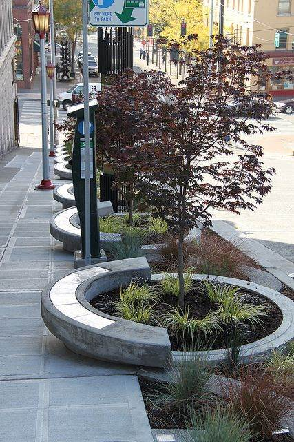 Stormwater Planter Seating