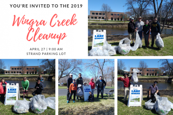 Walking By Wingra Creek In Snow >> 2019 Wingra Creek Cleanup Friends Of Lake Wingra