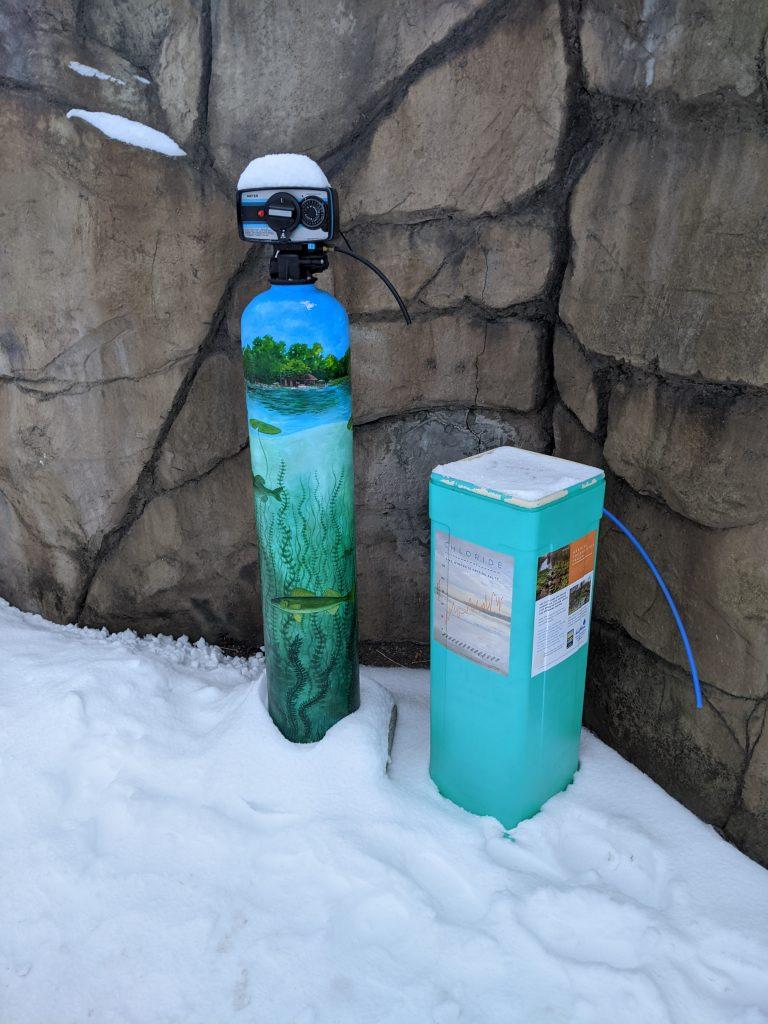 Water Softener Mural